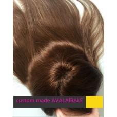 Накладка Женская на верхнюю часть головы -Накладные волосы_Color #4
